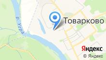 Поселковая управа городского поселения пос. Товарково на карте