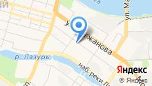 Helsinki на карте