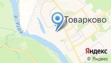 Товарковская детская библиотека на карте