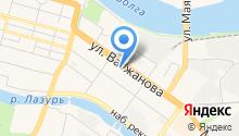 Tizetta на карте