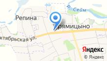Пожарная часть №36 Октябрьского района на карте