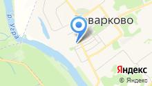 Товарковская средняя общеобразовательная школа №1 на карте