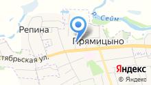 ДИВО-М на карте