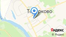Товарковский на карте