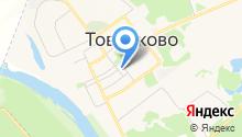 Отделение полиции межмуниципального отдела МВД РФ Дзержинский на карте