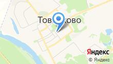 Товарковская школа искусств на карте
