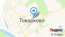 Товарково на карте