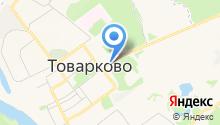 Товарковская автостанция на карте