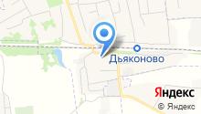 Октябрьское агрообъединение на карте