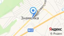 Родное село на карте