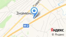 Межпоселенческая Централизованная библиотечная система Орловского района, МБУК на карте