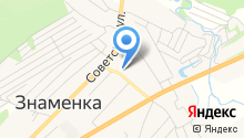 Детская музыкальная школа пос. Знаменка на карте