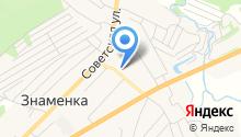 Знаменская средняя общеобразовательная школа Орловского района на карте