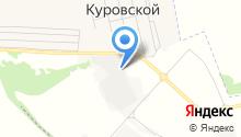Куровской завод керамзитного гравия на карте