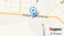 Автоаксессуар на карте
