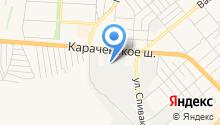 КАМАЗ-Центр на карте