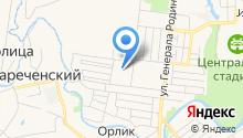 Банкомат, МАК-банк, Орловский филиал на карте