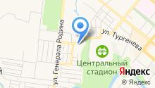 Банкомат, Центрально-Черноземный банк Сбербанка России на карте