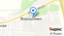 Администрация Ворошневского сельского совета на карте