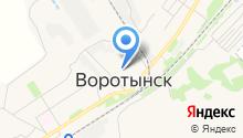 Воротынск на карте