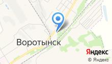Администрация городского поселения пос. Воротынск на карте