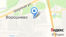 Багот на карте