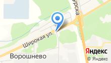 Федерация воздухоплавания Курской области на карте