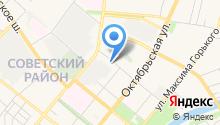 Unicontent на карте