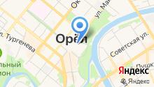 Архив нотариальных документов г. Орла и Орловской области на карте