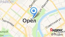 MaxClub на карте