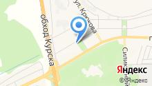 Янтарь на карте