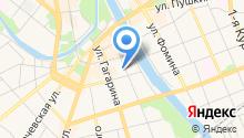 Автостоянка на Черкасской на карте