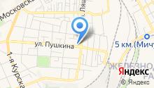 АСТОР на карте