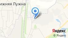 АМОС на карте