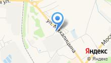 Автостоянка на Михалицына на карте