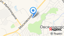 8 миля на карте