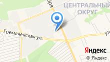 1 отряд ФПС по Курской области на карте