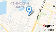 Alekto на карте