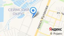 BUFFALO на карте