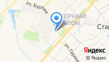 Администрация Северного района на карте