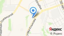 Dent Saine на карте