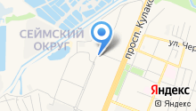 Keykursk на карте