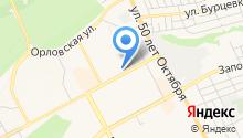 WEST на карте