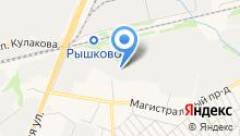 Ясные Зори Курск на карте