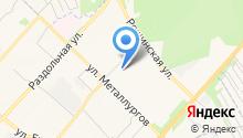 Адвокат Кошелев Д.А. на карте