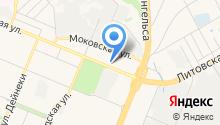 SPA массажный салон Кристальновой Ирины на карте