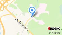 Автостоянка на Вишневского на карте