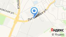 TaxiFlash на карте