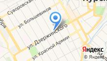 OLBOR на карте