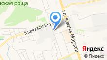 Управляющая компания Курска на карте